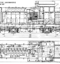locomotive drawing [ 1280 x 720 Pixel ]