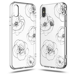 drawing phone iphone mobile line daisy rose flower paintingvalley xr roses simple case flow