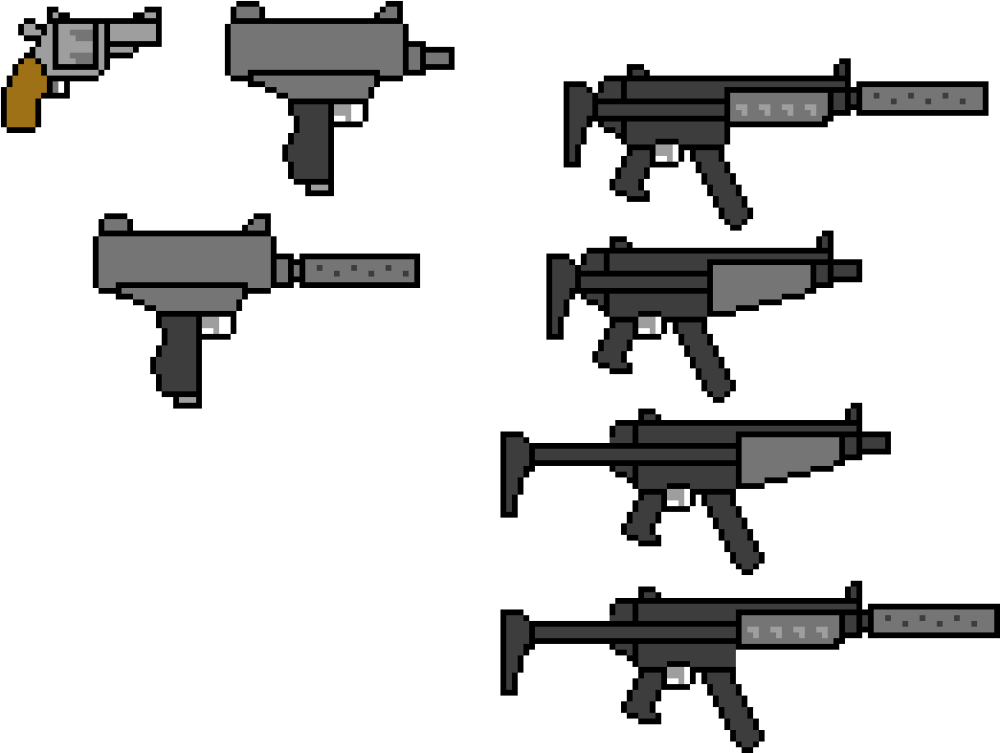 medium resolution of 1045x787 download revolver sd uzi mp5 drawing