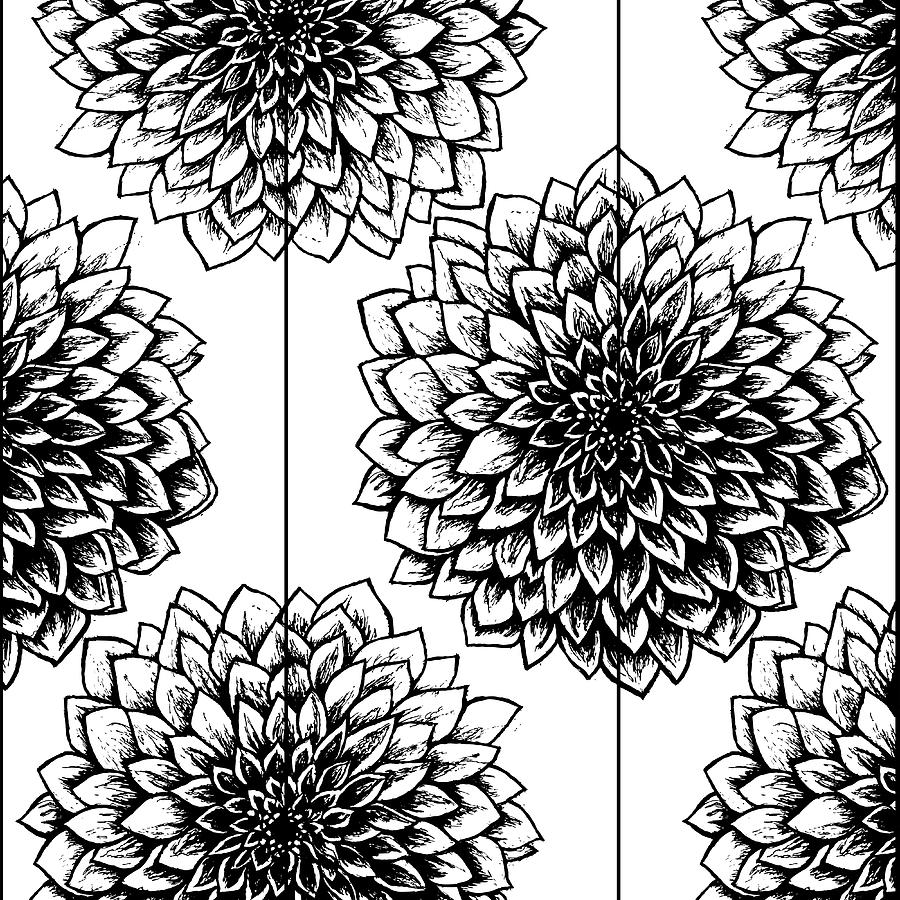 medium resolution of 900x900 black and white mums drawing mum flower drawing