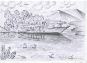drawing sketch drawings nature scenery nice easy sketches draw natural pencil sceneries learn drawingartpedia paintingvalley paintings apkpure poster