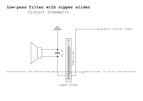 small resolution of 1754x1240 low pass filter with zipper slider details hackaday io open zipper drawing