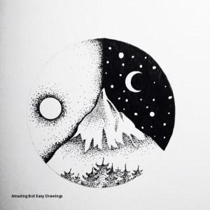 drawings easy amazing ink paintingvalley dra