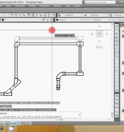 1280x720 autocad plumbing drawing plumbing drawing [ 1280 x 720 Pixel ]