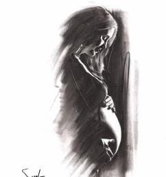 794x1011 pregnancy gift pregnancy art pregnancy artwork pregnant etsy pregnant woman drawing [ 794 x 1011 Pixel ]