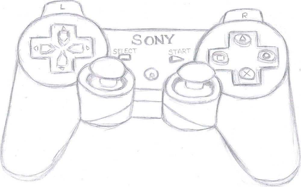 medium resolution of 1419x882 controller drawing wiring schematic diagram ps3 controller drawing