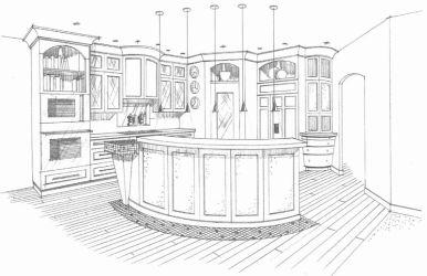 restaurant drawing easy sketch drawings paintingvalley