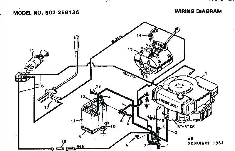 Wiring Diagram For Sear Lawn Mower