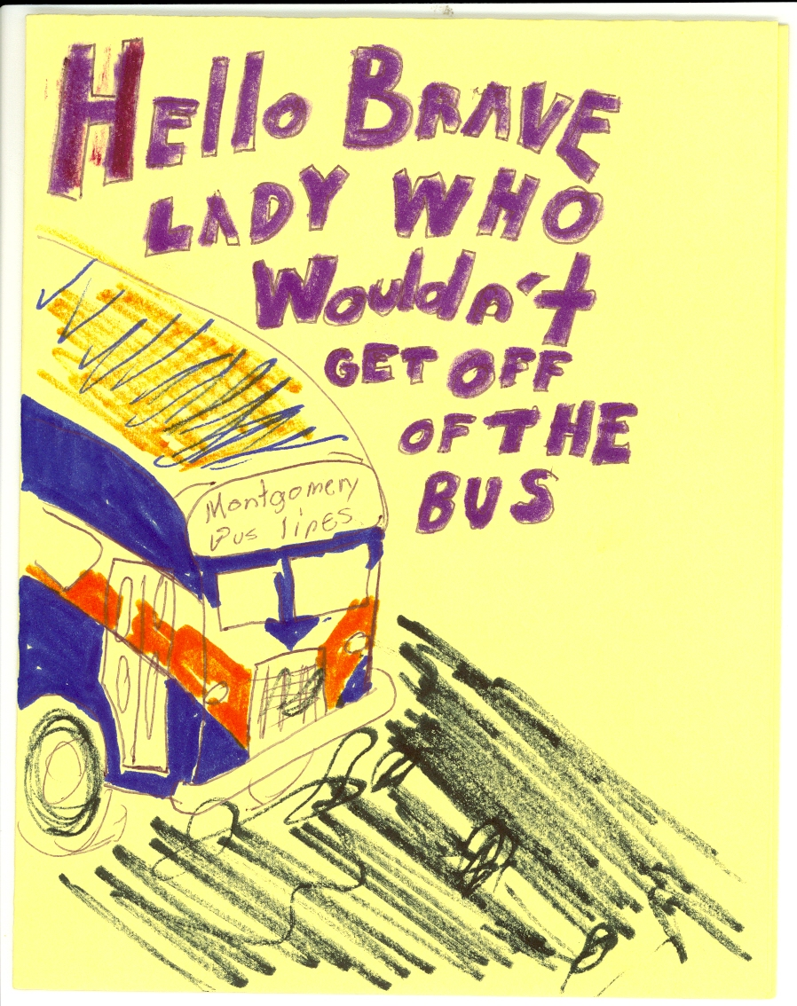 medium resolution of 898x1134 happy birthday to rosa parks library of congress blog rosa parks bus drawing