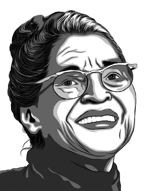 small resolution of rosa parks drawing