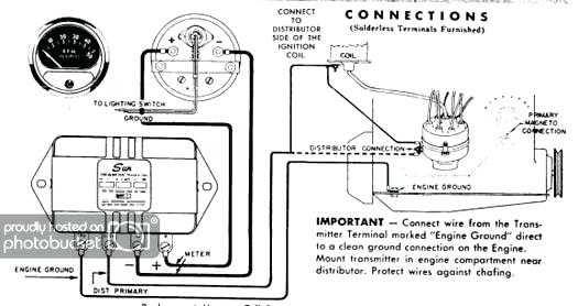 [DIAGRAM] Electronic Ignition Tach Install Install A Tach