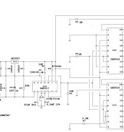 1024x782 diy led tachomter rpm gauge drawing [ 1024 x 782 Pixel ]
