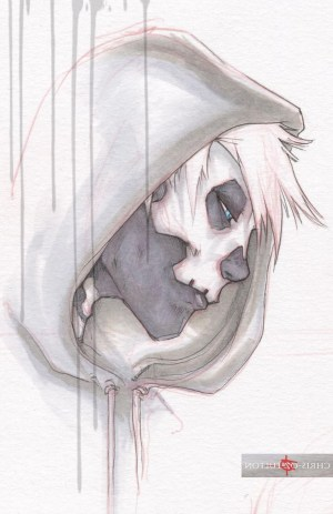 sad emo drawing sketches meaningful drawings anime paintingvalley