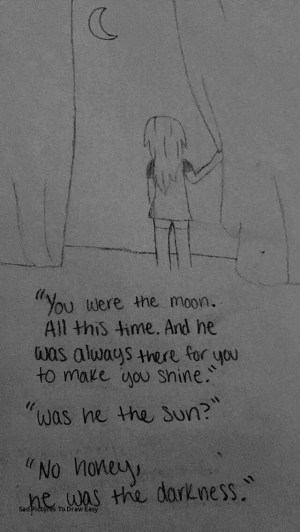 sad drawings quotes drawn sketch meaningful moon easy draw drawing sketches depression hagen rachel sun paintingvalley depressing visit pencil