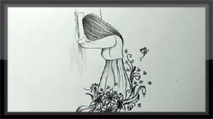 sad pencil easy drawing cool drawings