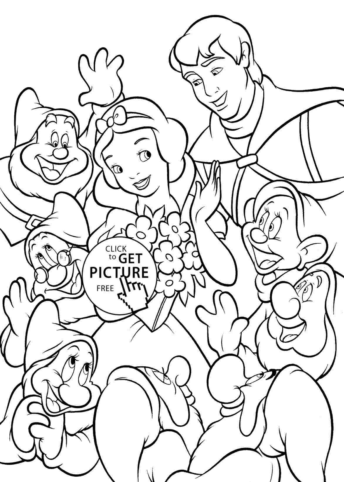 Seven Dwarfs Drawing At Paintingvalley