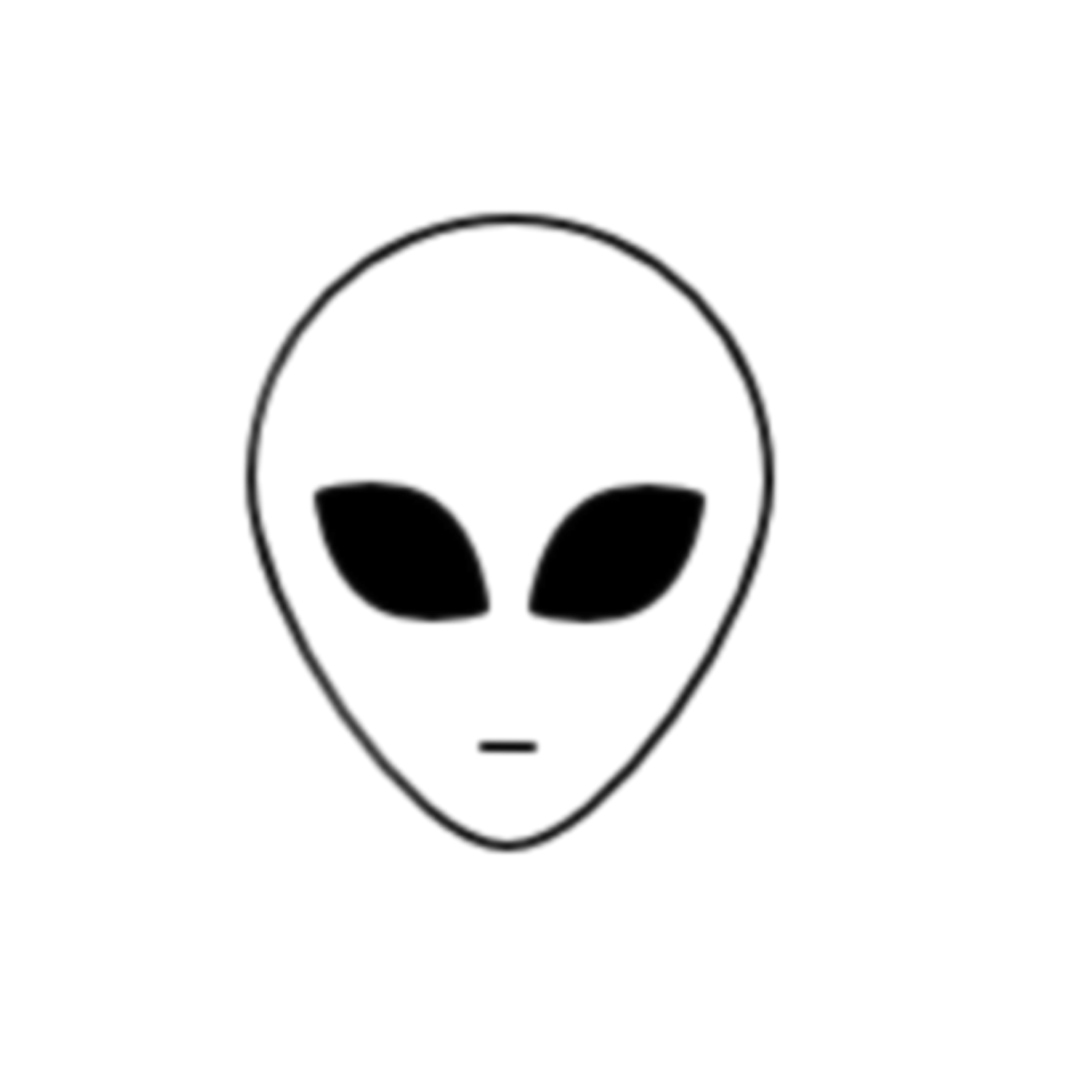 Simple Alien Drawing At Paintingvalley