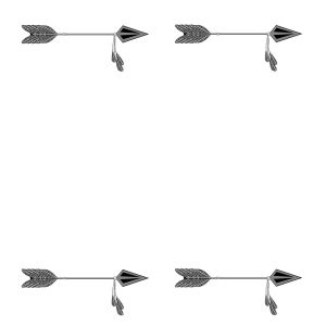 arrow simple drawing tribal clipart frame arrows kinds paintingvalley drawings