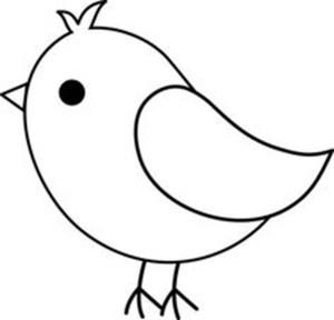 bird drawing simple drawings paintingvalley