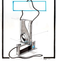 1000x1387 a simple camera sketch demo from drawing presentation s spring simple camera drawing [ 1000 x 1387 Pixel ]