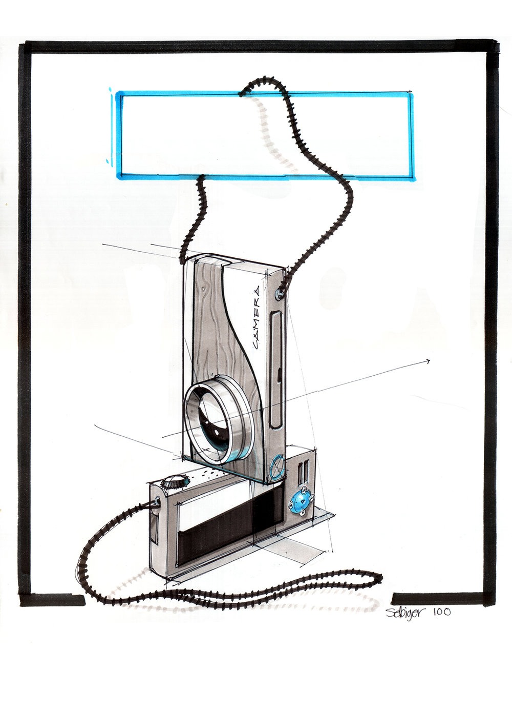 medium resolution of 1000x1387 a simple camera sketch demo from drawing presentation s spring simple camera drawing
