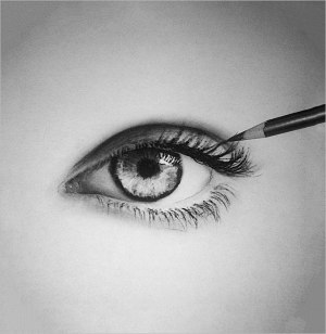 eye drawing sketch realistic drawings deep eyes eyeball simple sketches template pencil draw templates learn paintingvalley asterisk vector starship