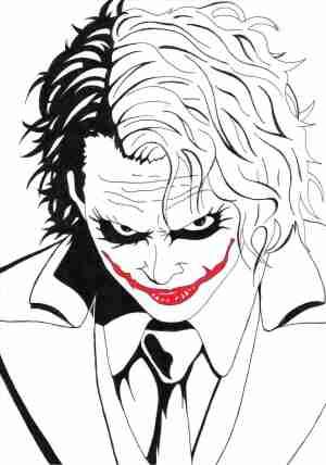 joker drawing drawings ledger heath pencil simple deviantart batman easy sketch anime coloring paint