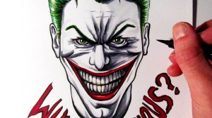 joker drawings serious why drawing simple cool draw widescreen easy wallpapers let fan paintingvalley