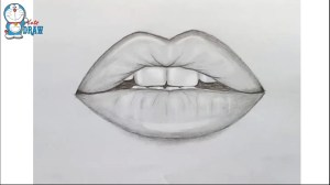 lips drawing draw mouth easy simple sketches step drawings sketch pencil lip mouths paintingvalley realistic painting face drawingwow zdroj pinu