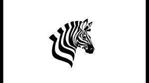 zebra easy drawing simple sketch draw head drawings paintingvalley sketches