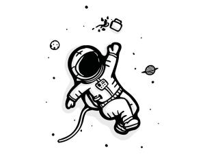space drawing cartoon lost drawings paintingvalley dribbble