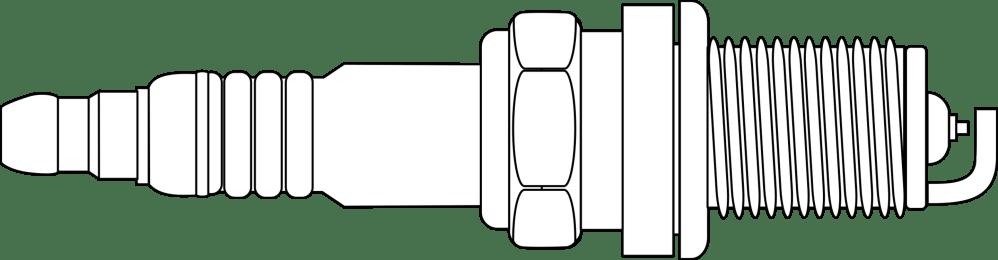 medium resolution of spark plug drawing
