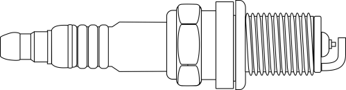 small resolution of spark plug drawing