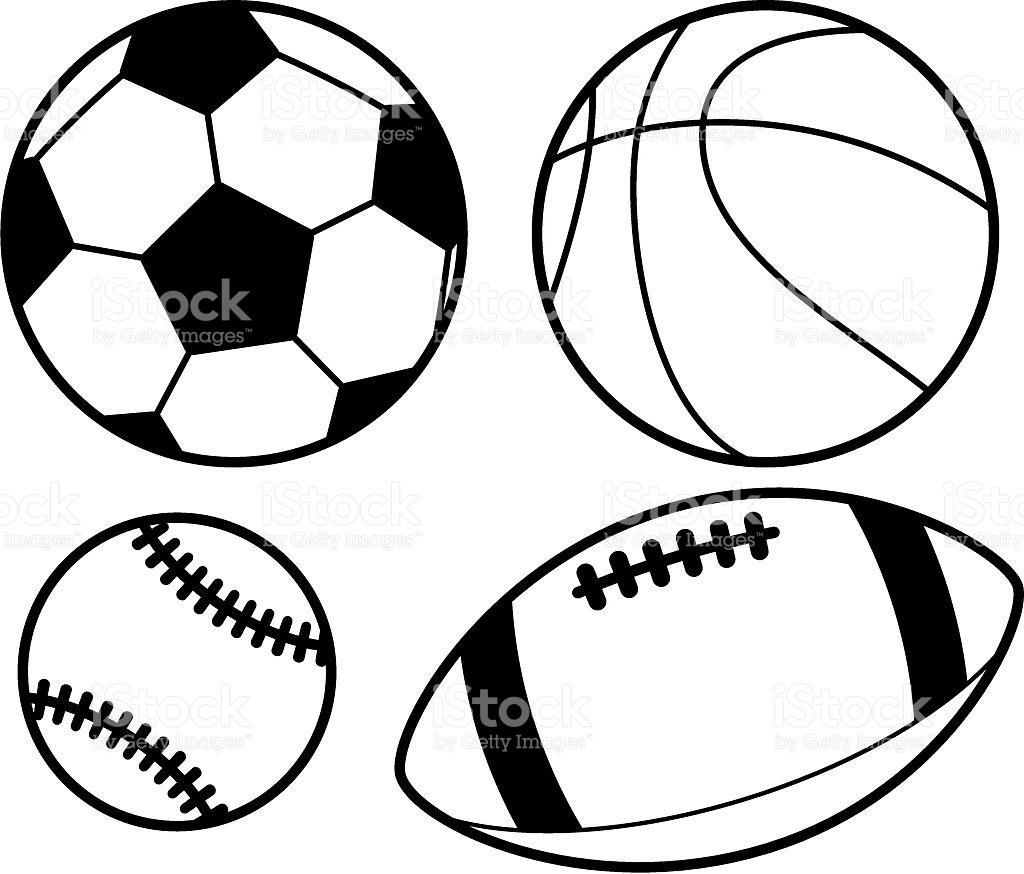 Sports Balls Drawings At Paintingvalley
