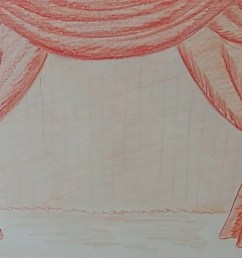 1280x720 draw a curtain stage curtains drawing [ 1280 x 720 Pixel ]