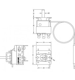 1000x1000 capillary thermostat cewal thermostat drawing [ 1000 x 1000 Pixel ]