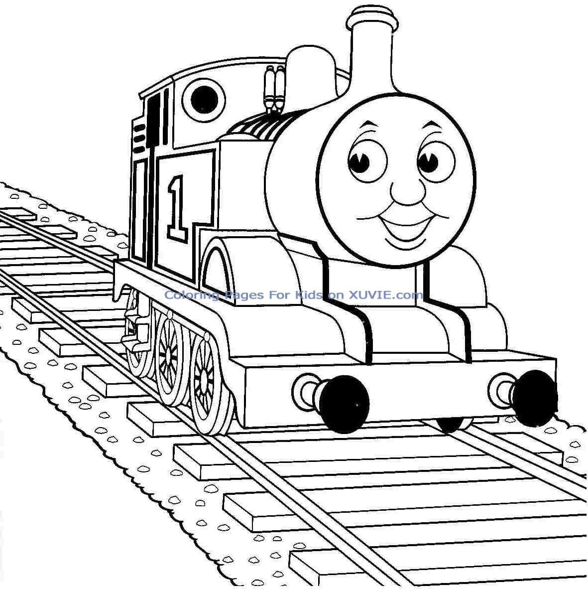Thomas The Train Drawing At Paintingvalley