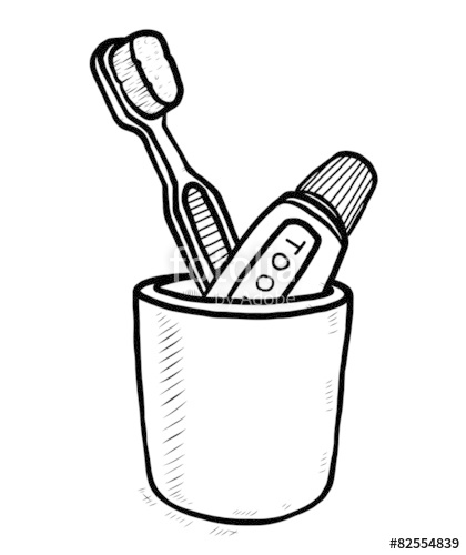 25+ Best Looking For Simple Toothbrush Drawing Easy