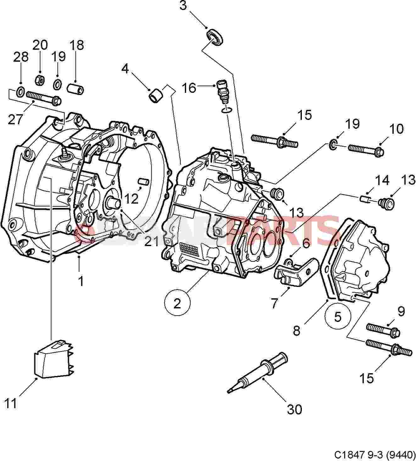 35 Manual Transmission Parts Diagram
