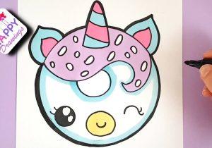 unicorn draw easy drawing simple drawings head