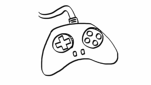 20+ Fantastic Ideas Video Game Controller Drawing Easy
