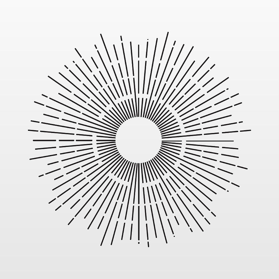medium resolution of 900x900 vintage sun rays isolated on background modern simple flat vintage sun drawing