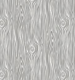 957x963 gray large woodgrain fabric wood grain line drawing [ 957 x 963 Pixel ]