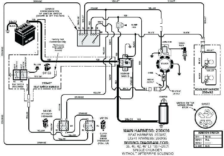 Wiring Diagram For Zero Turn Mowers
