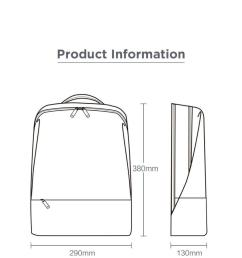 1000x957 concise backpack anti theft zipper inch laptop bag college zipper technical drawing [ 1000 x 957 Pixel ]