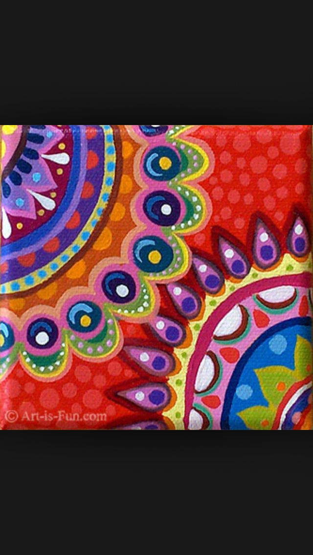 abstract painting patterns at