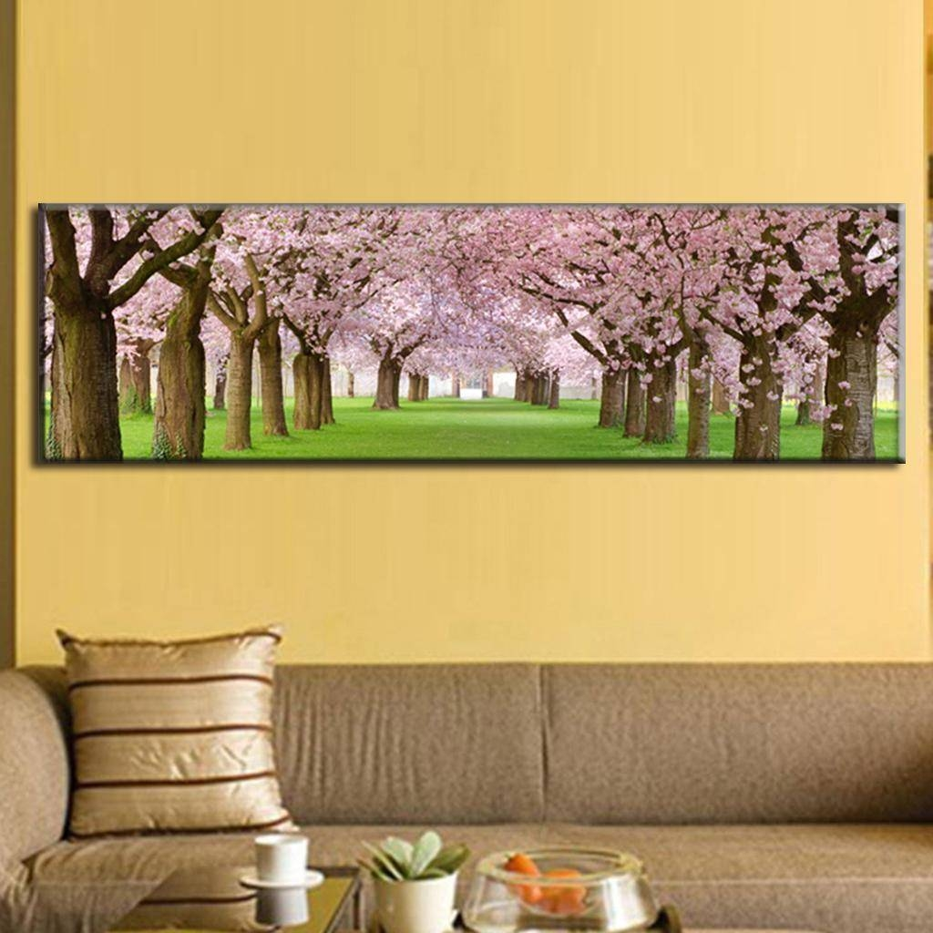 big canvas painting at