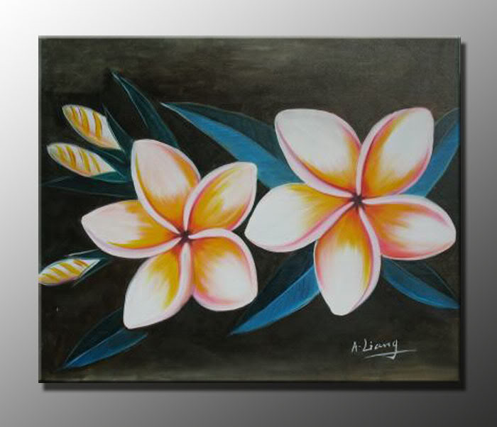 black background painting at