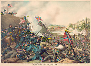 civil war battle painting