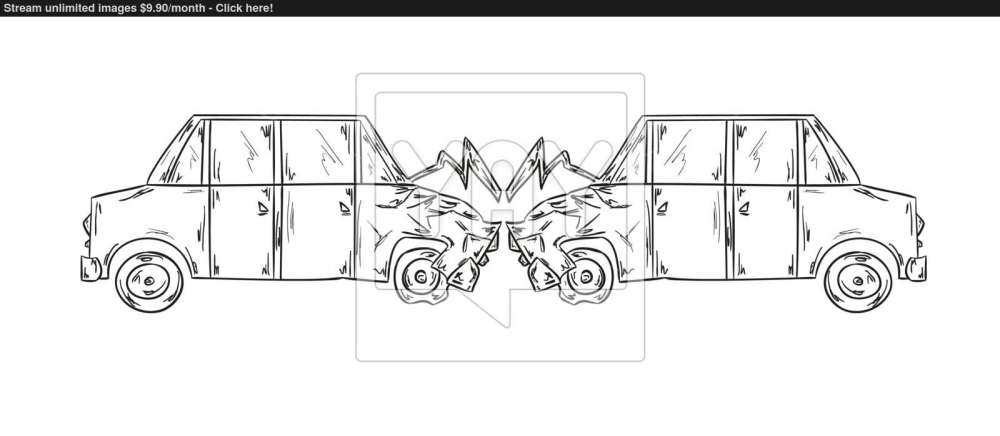 medium resolution of 1600x699 accident of two cars sketch vector accident sketch